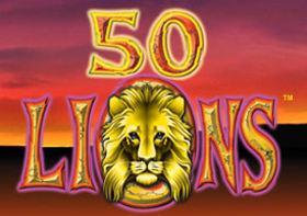 50 Lions Hedelmäpeli Logo